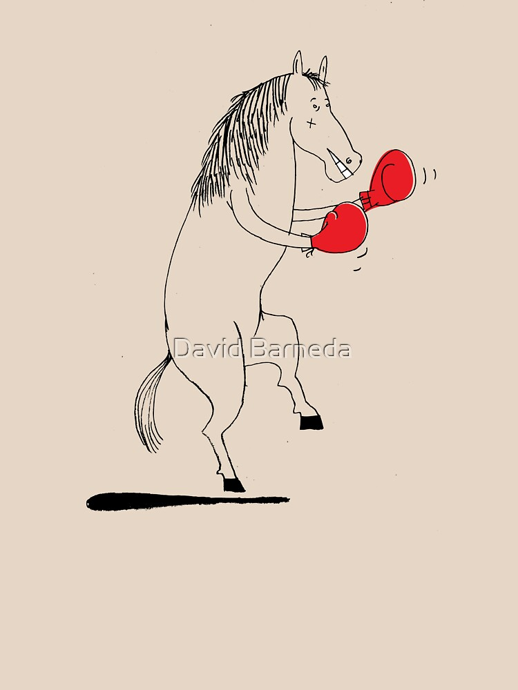 The boxing horse by barneda