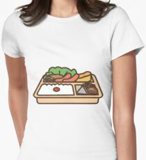 Lunch Tray Women's Fitted T-Shirt