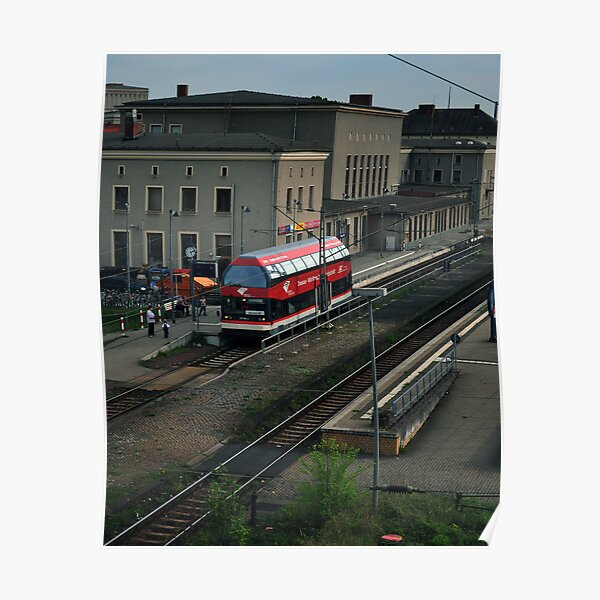 Dessau : Bahn Poster