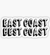 East Coast Best Coast | Hipster Teen Sticker