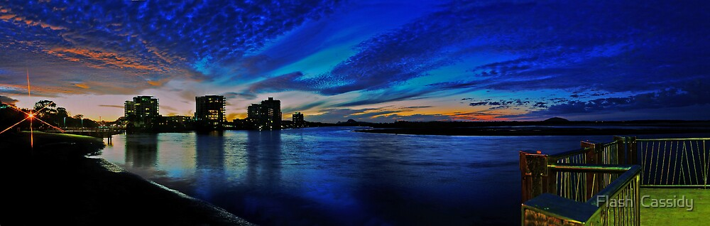 Maroochydore sunset by Flash  Cassidy