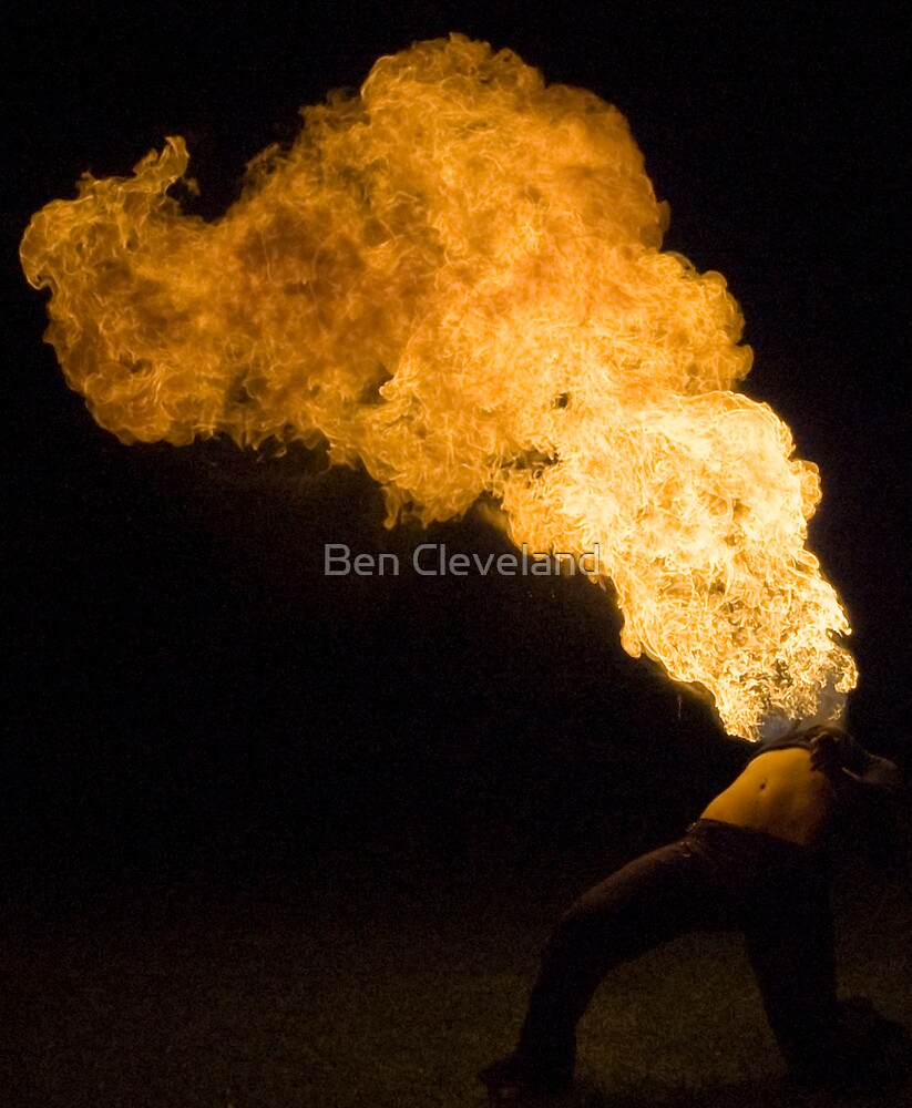 Playing with Fire by Ben Cleveland