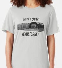 Never Forget Dusty Slim Fit T-Shirt