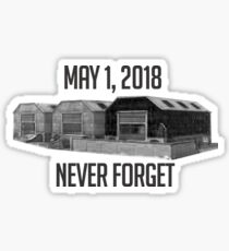 Never Forget Dusty Sticker