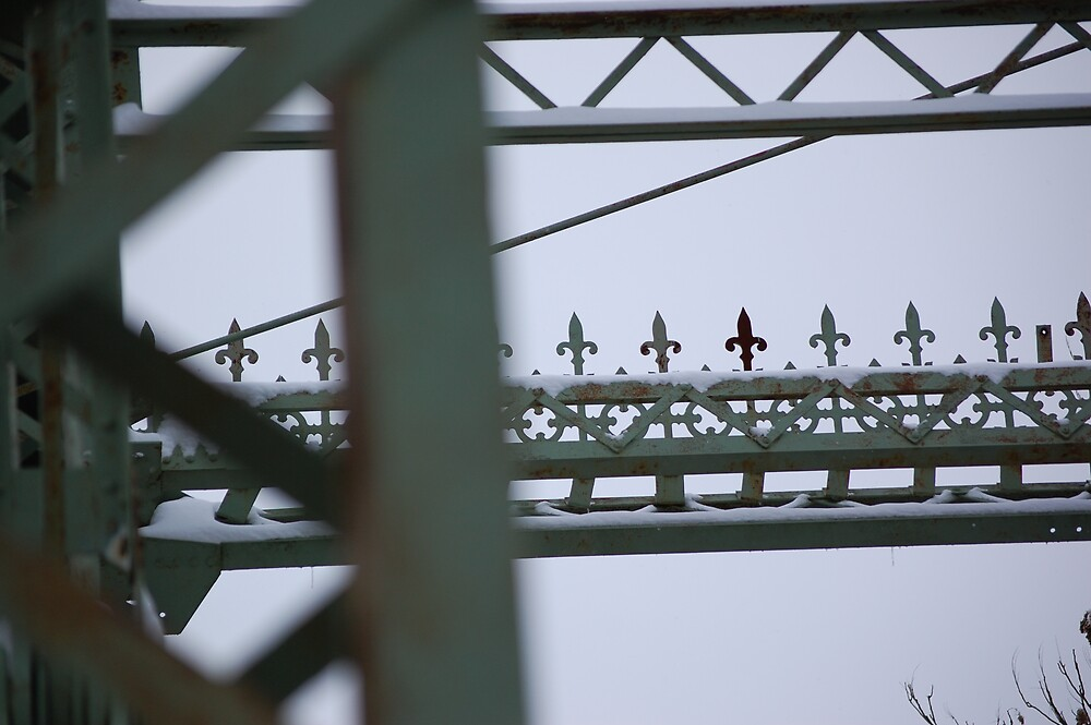 Under the bridge by SunflowerAnnie