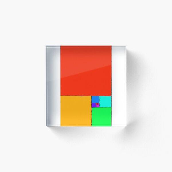 Golden Ratio 3 Acrylic Block