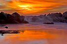 Tequilla Sunset, Venice Beach, California by photosbyflood