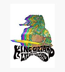 King Gizzard Lizzard Photographic Print