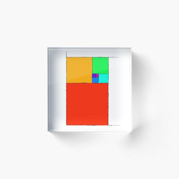 Golden Ratio 2 Acrylic Block