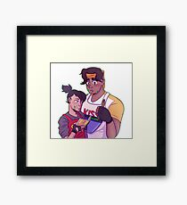 Heith Cooking Framed Print