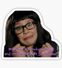 Penelope from The Amanda Show Sticker