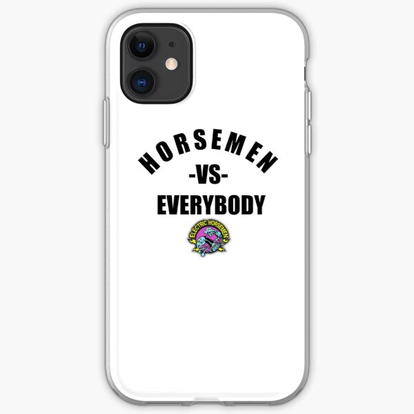 Electric Horsemen v Everybody iPhone Soft Case