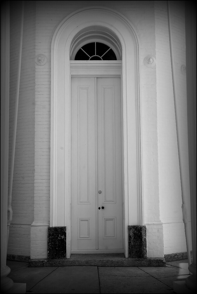 Tower Door by Donnie Shackleford