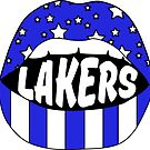 Lakers Lips by stickybad