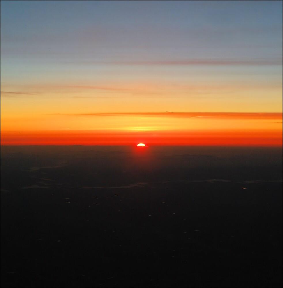 Adirondack Sunrise by Donnie Shackleford