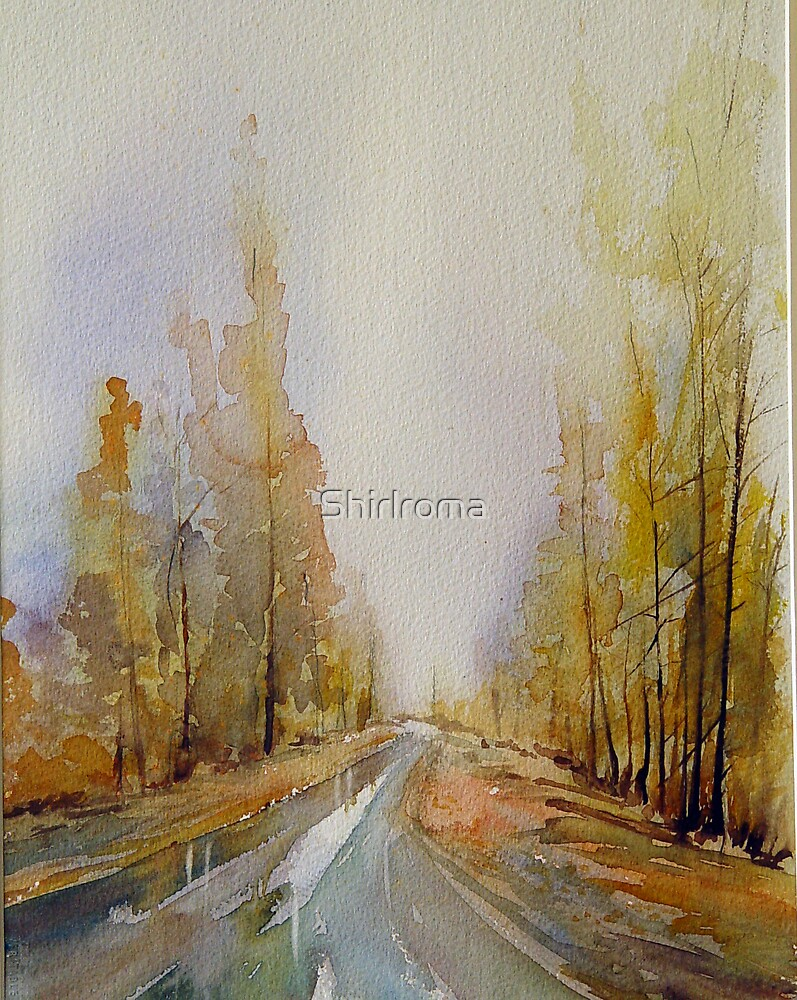Golden Road by Shirlroma