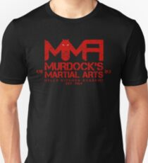 MMA - Murdock's Martial Arts (V04 - Bloodred) Unisex T-Shirt