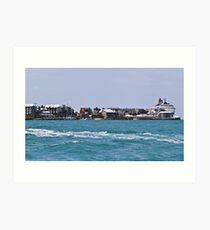 Key West Costal View Art Print