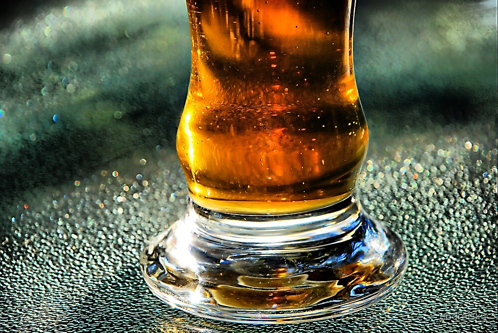 Glass of beer by andreisky