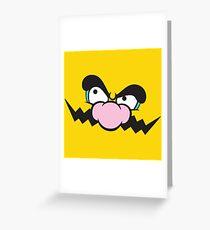WAH! (Wario) Greeting Card