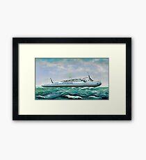 Futuristic Submarine Cruiser Framed Print