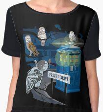 Hedwig Says Who! Chiffon Top