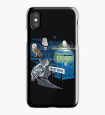 Hedwig Says Who! iPhone Case
