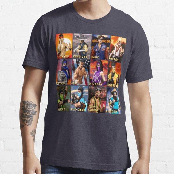 Mortal Kombat 2 SNES Character Portraits Essential T-Shirt