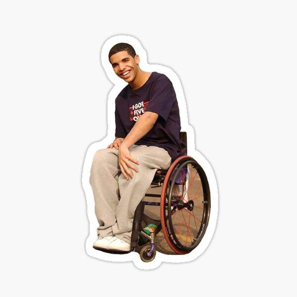 Wheelchair Jimmy Sticker