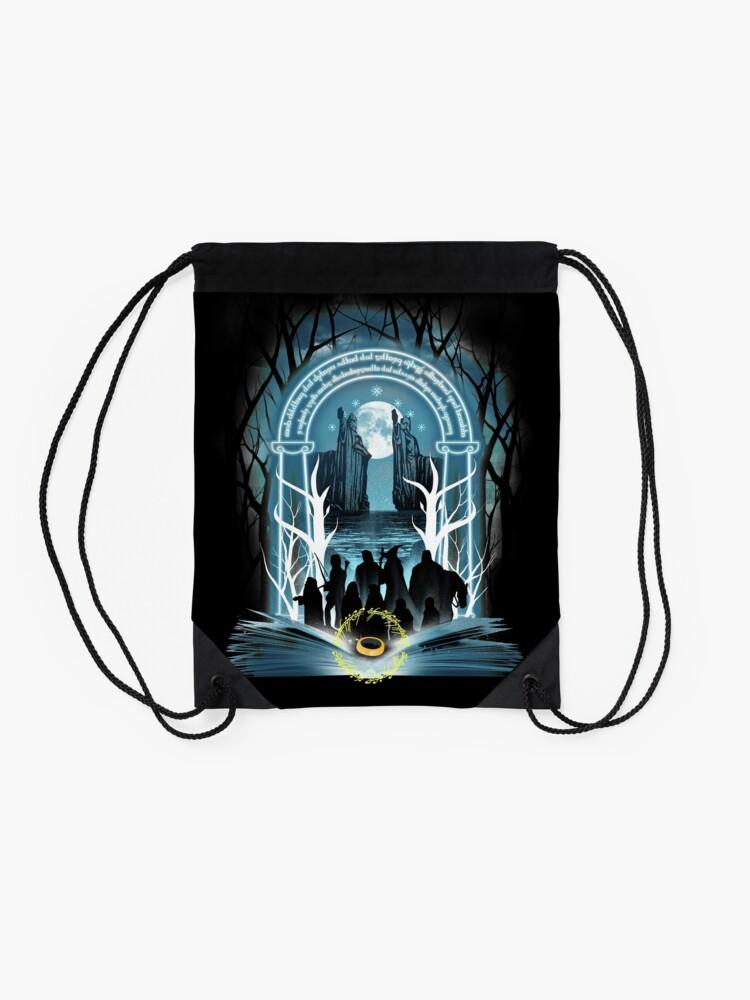 Alternate view of Book of Fellowship Drawstring Bag