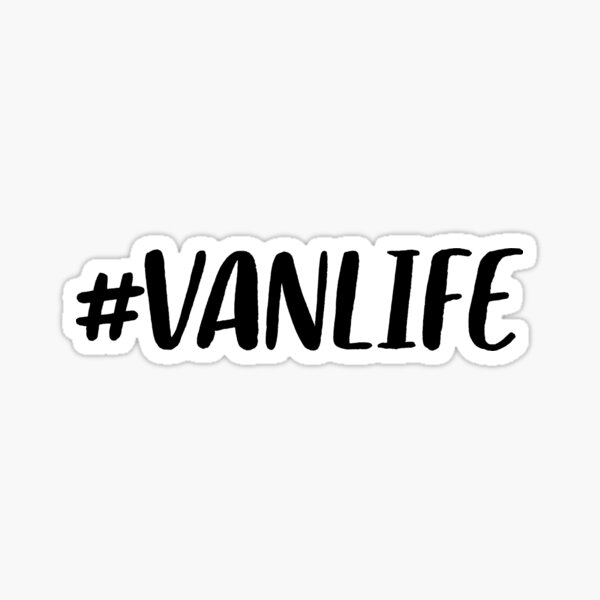 Vanlife ~ Wanderlust Traveller Sticker