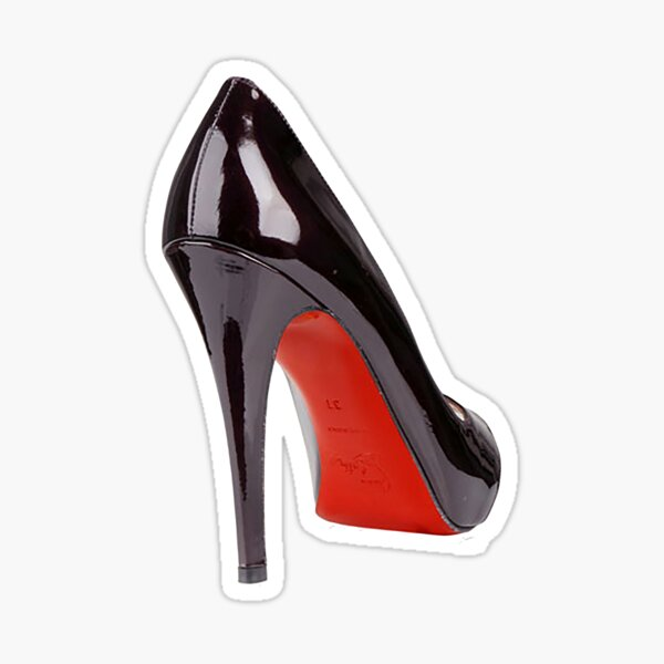 Louboutin Sticker