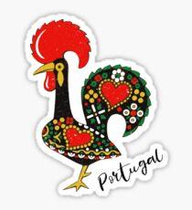 Galo de Barcelos Portuguese Rooster Sticker
