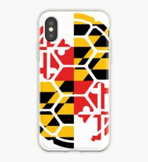 Maryland Flag Shell iPhone Case