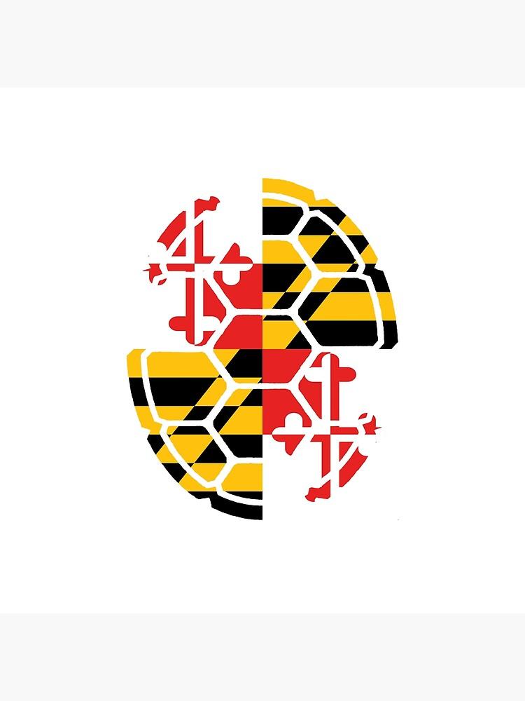 Maryland Flag Shell von harringe