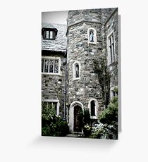 The Castle at Skylands Manor Greeting Card