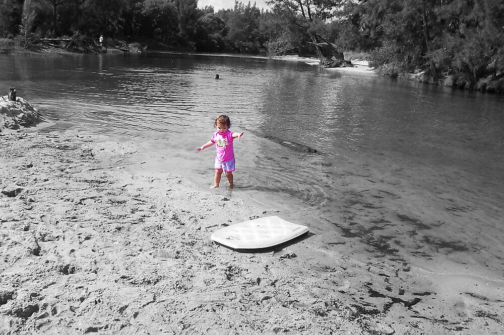 Maddi at the River by twilighter