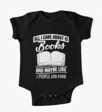 all I care about is books nerd t-shirts One Piece - Short Sleeve