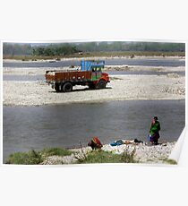 River Manas, Assam, India. Poster