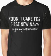 No New Nazis Graphic T-Shirt