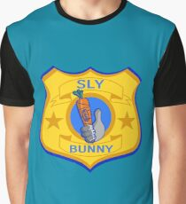 Sly Bunny Graphic T-Shirt