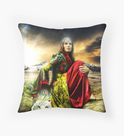A Father's Promise Throw Pillow