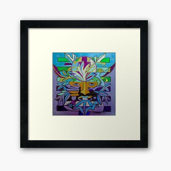 Hexagram 24: Fu (Turning Point) Framed Art Print