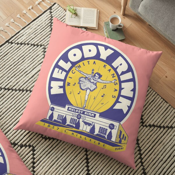 Melody Rink Floor Pillow