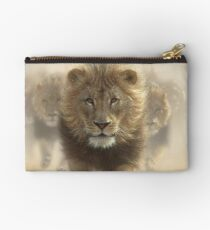 "Lions Running ""Eat My Dust"" Studio Pouch"