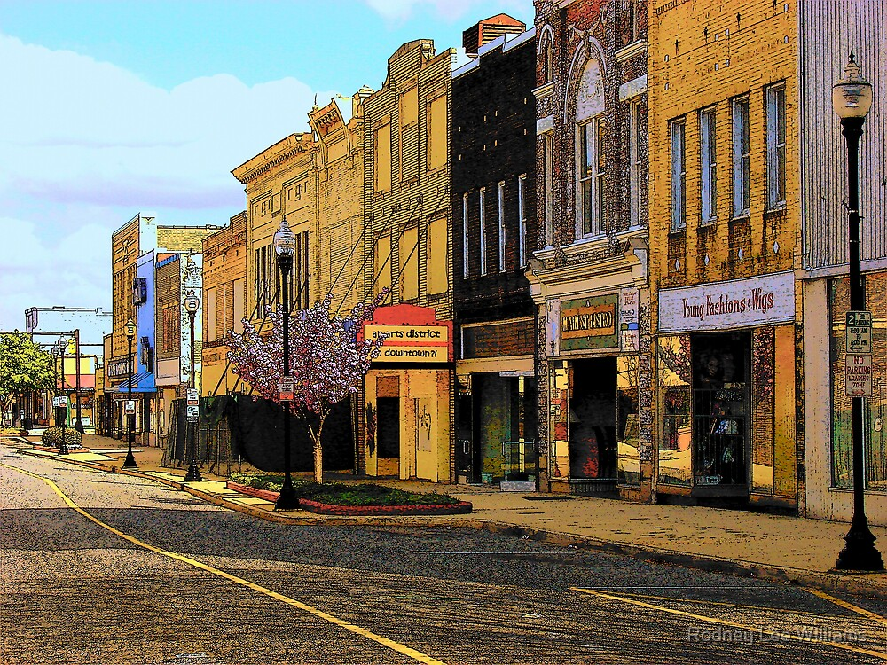 Empty Town 2 by Rodney Lee Williams