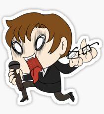 Aggressive Jaehee Sticker