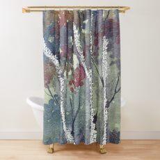 The Dark Forest  Shower Curtain