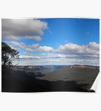 Blue Mountains NSW Australia  Poster
