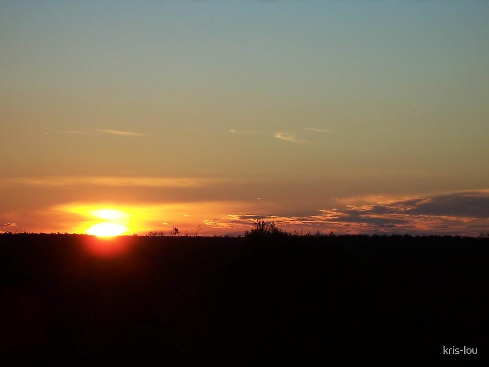 Lightning Ridge Sunset by kris-lou